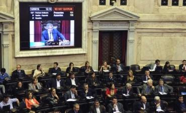 Fracasó la sesión especial en Diputados para tratar la ley antidespidos