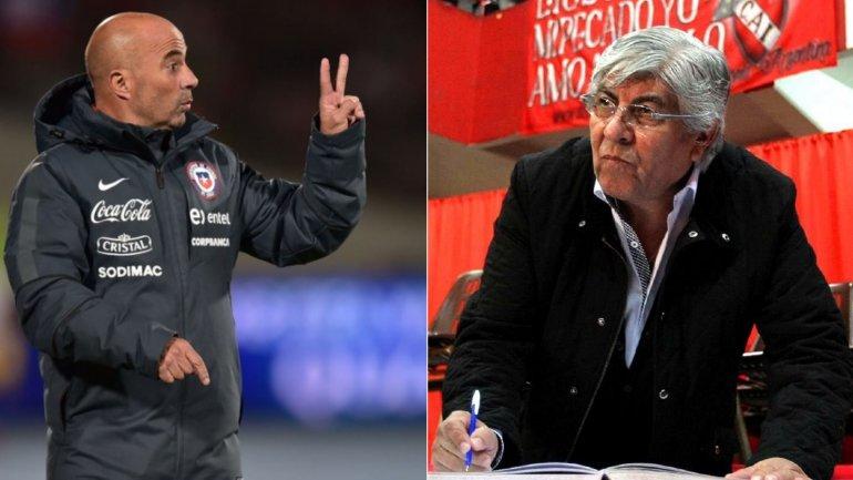 Va en serio: Jorge Sampaoli se reunió con Hugo Moyano y le planteó a qué jugadores no tendría en cuenta