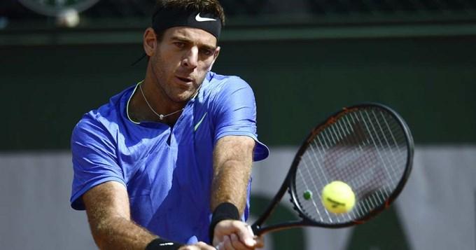 Delpo ni transpiró para vencer a Pella en Roland Garros