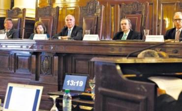 """La máxima autoridad de la justicia entrerriana calificó al fallo de la Corte por el 2x1 como """"un grave error"""""""