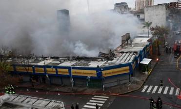 Buenos Aires: Gigantesco incendio consumió