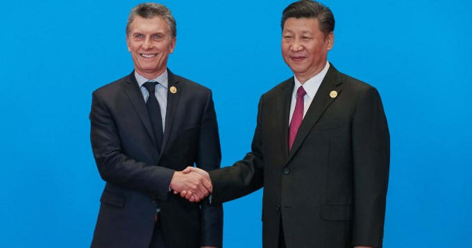 Macri apuesta a fuertes inversiones de China