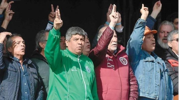 Pablo Moyano no descartó un paro general contra la reforma laboral