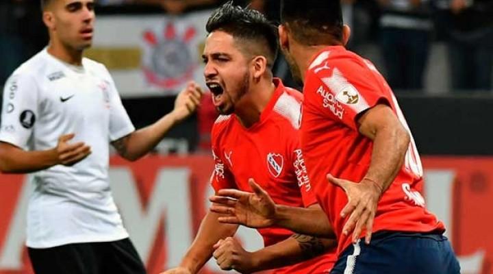 Independiente jugó un gran partido en Brasil y derrotó con autoridad a Corinthians