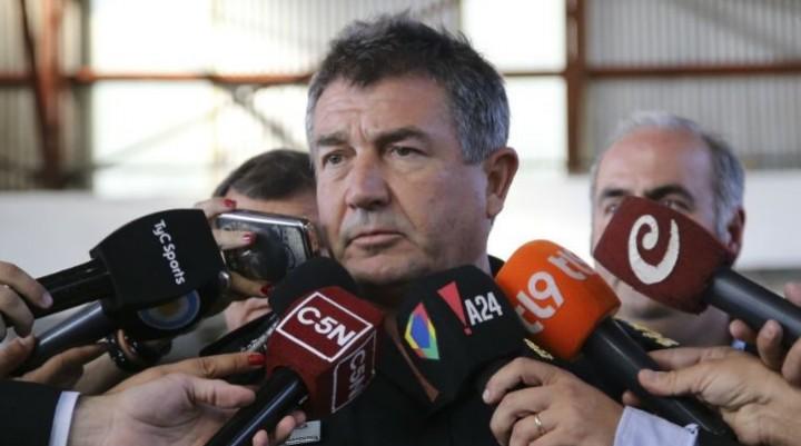 El jefe de la Policía Federal Néstor Roncaglia coincide