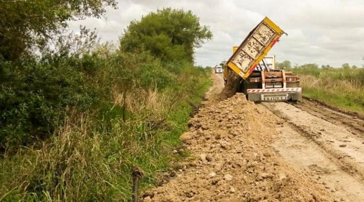 Se diagramaron tareas de conservación vial en las zonas de la provincia más afectadas por la lluvia