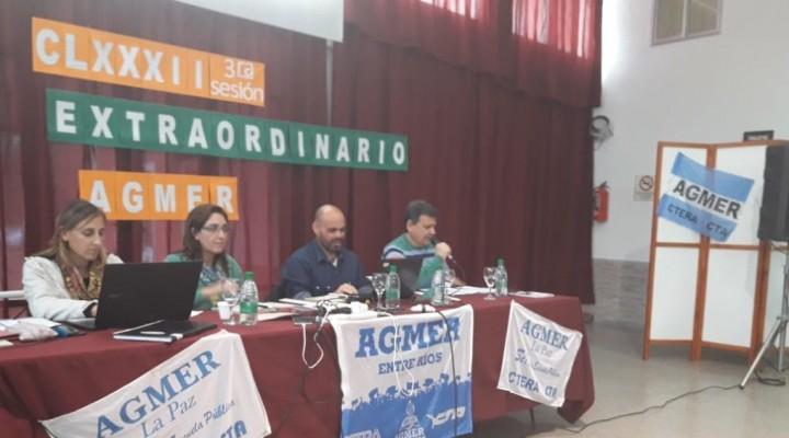 Agmer aceptó la propuesta de aumento que presentó el Gobierno