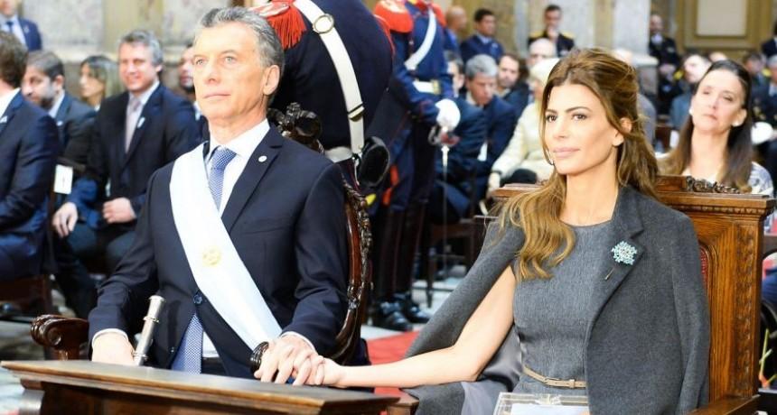 Macri y Awada en el Tedeum en la Catedral