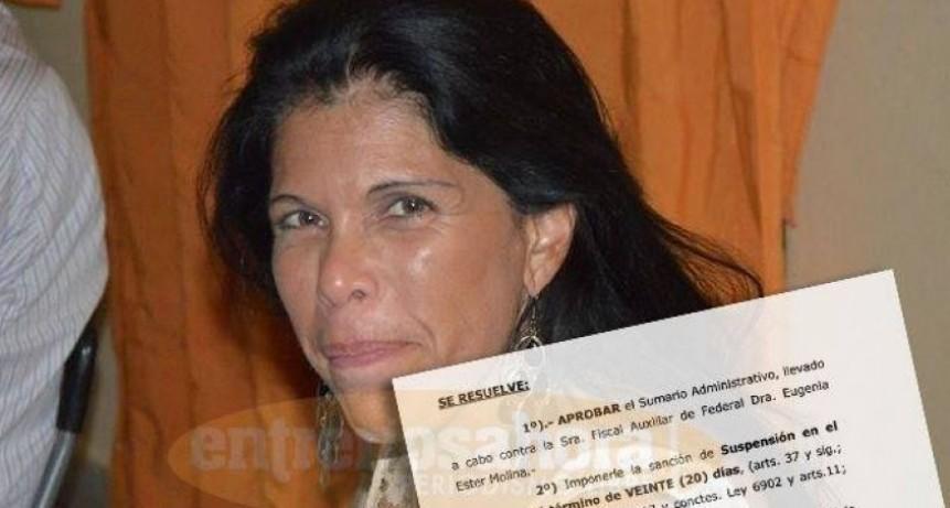Leve sanción para la fiscal de las publicaciones racistas