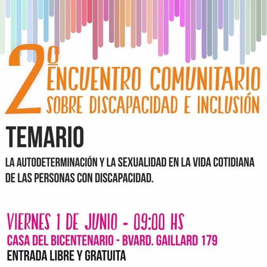FEDERAL PARTICIPA DEL 2° ENCUENTRO COMUNITARIO SOBRE DISCAPACIDAD E INCLUSIÓN