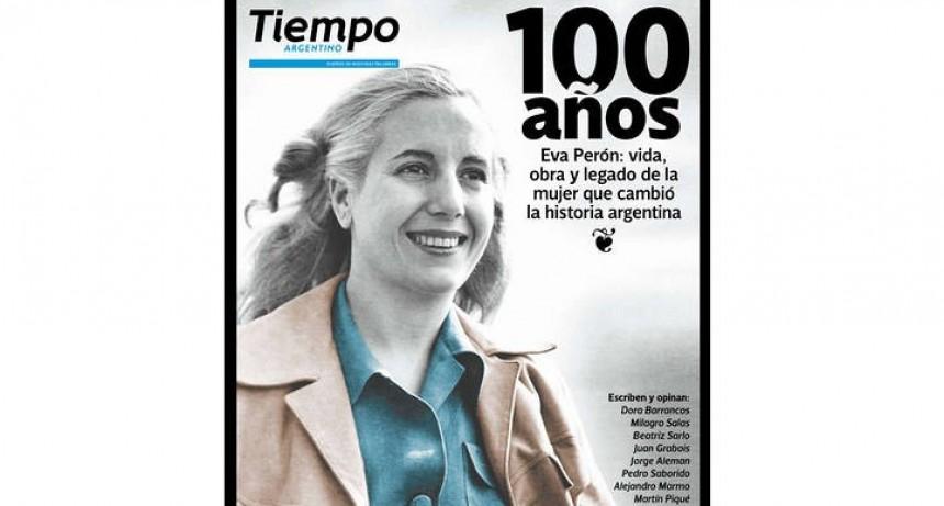 Eva Perón, el relámpago que no deja de arder en la historia argentina