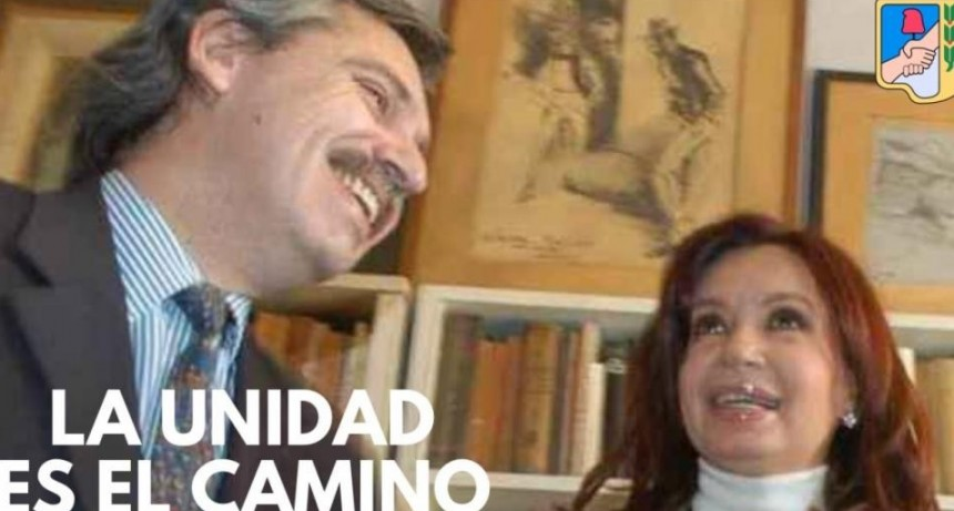 Sorpresa absoluta en el escenario politico  La formula Alberto Fenández - Cristina Kirchner irá a las PASO