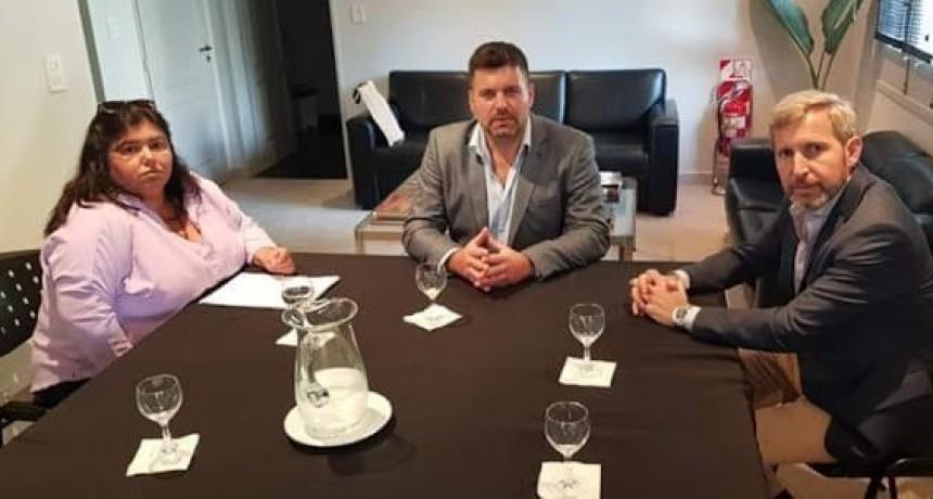 El Intendente y la Senadora por Federal mantuvieron encuentro de trabajo con el Ministro Rogelio Frigerio