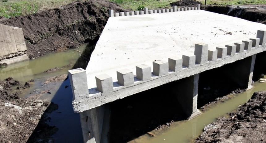 Buen ritmo de avance para la sistematización de Cañada Los Tigres