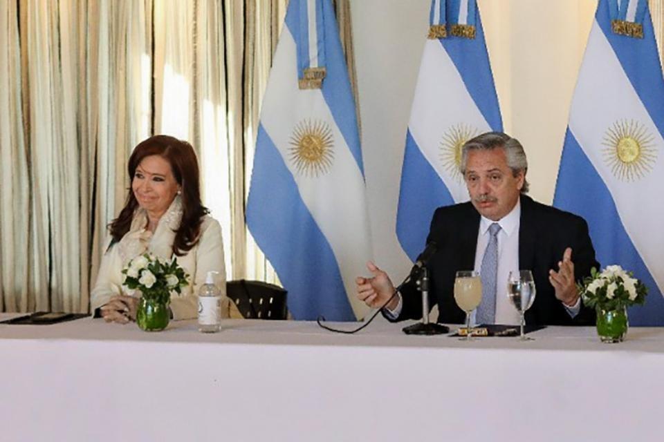 Alberto Fernández y Cristina Kirchner se reunieron para delinear la nueva etapa de la cuarentena