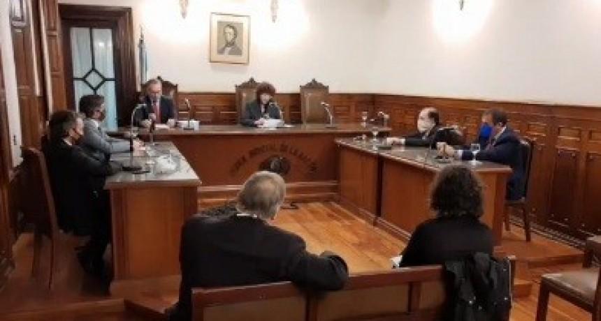 Área Paraná II: perpetua para Appelhans y Dasso, 13 años para Appiani y 8 para Moyano