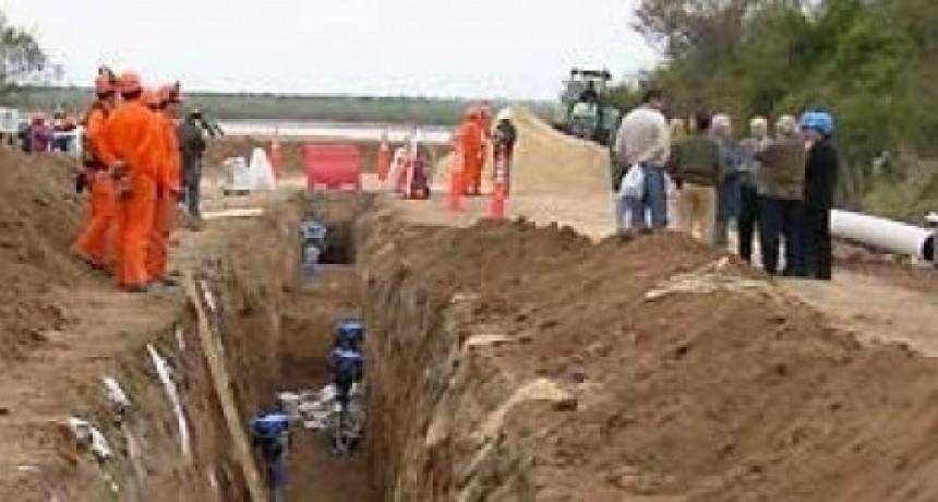 Senadores solicitan un informe sobre el estado de la obra del Acueducto del Norte Entrerriano