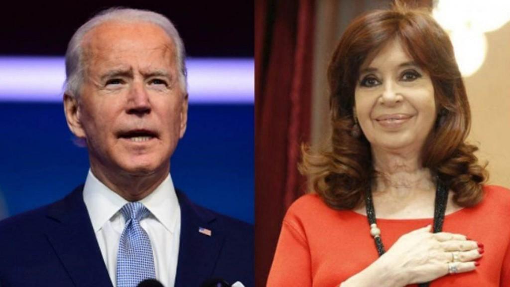 Recomendó frases del discurso ante el Congreso del presidente de EE.UU. Con citas a Joe Biden, Cristina Kirchner defendió el papel del estado para reactivar la economía