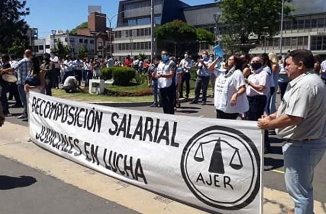 Judiciales anunciaron un plan de lucha para lo que resta de mayo