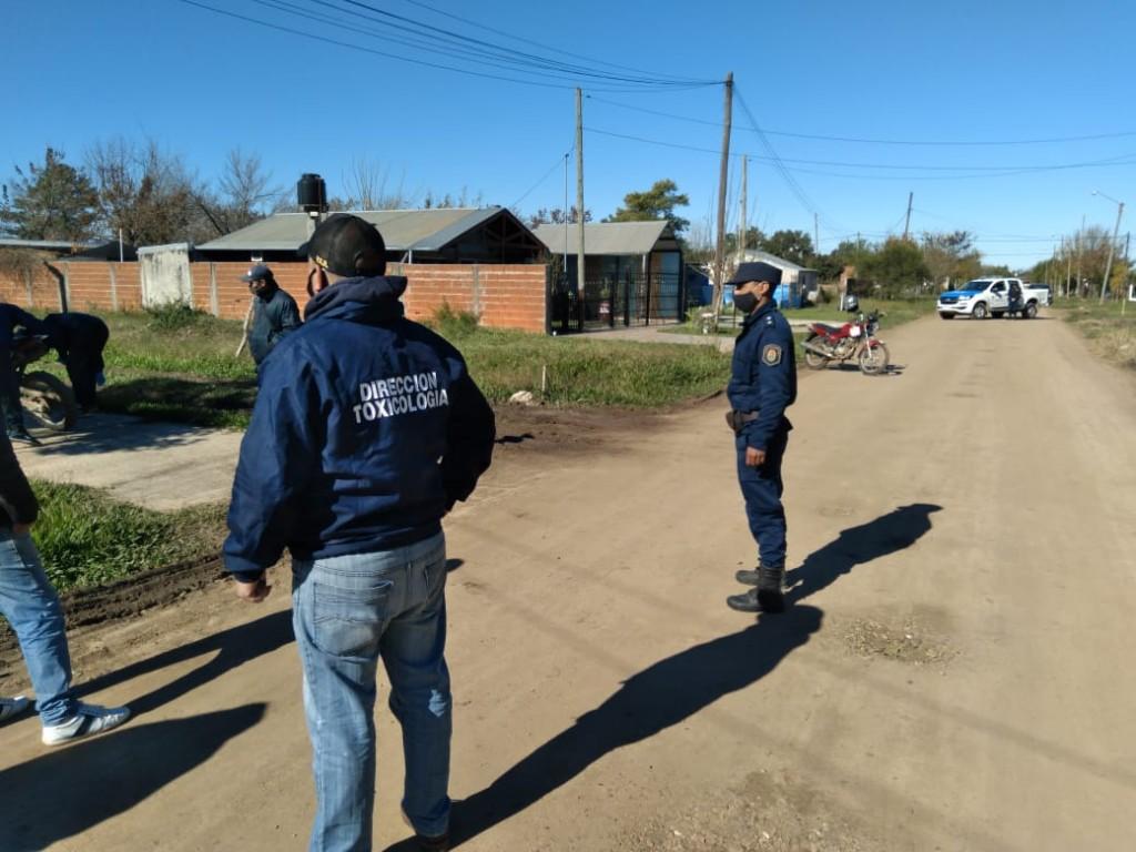 EXITOSA ACTUCION POLICIAL;  DIVISION TOXICOLOGIA LOGRA DESBARATAR IMPORTANTE BANDA QUE DISTRIBUIAN ESTUPEFACIENTES EN FEDERAL