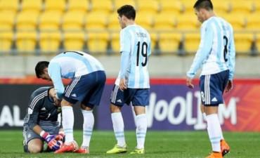 Argentina empató con Austria y quedó eliminada del Mundial Sub-20