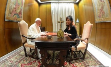 Cristina tras reunirse con Francisco: