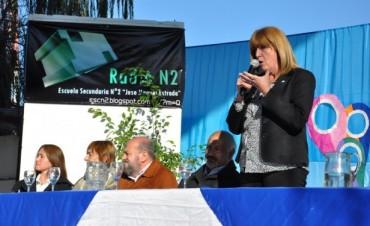 Claudia Vallori y miembros del CGE estuvieron en Federal abordando la estrategia territorial educativa