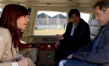Cristina se sacó la foto con Scioli y Zannini
