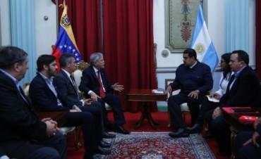 Urribarri se reunió con Maduro y avanzaron en temas comerciales