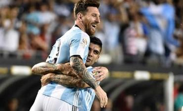 Copa América: Messi volvió con tres goles y Argentina clasificó a cuartos de final