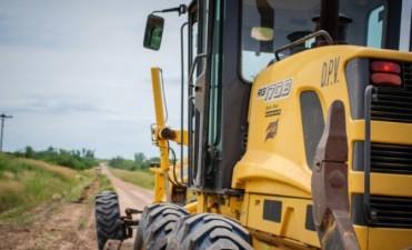 Vialidad emplea un operativo de recuperación de caminos secundarios y terciarios en el departamento Uruguay