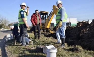 El Municipio dio inicio a la ejecución de una nueva obra de cloacas
