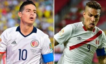 Copa América: Colombia y Perú, por un lugar entre los cuatro mejores