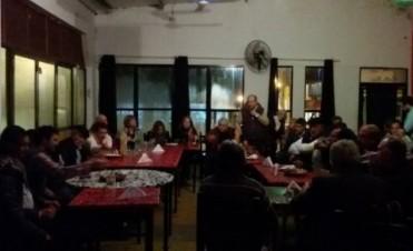 """Reunión de """"Encuentro Peronista Entrerriano"""" en Macia"""