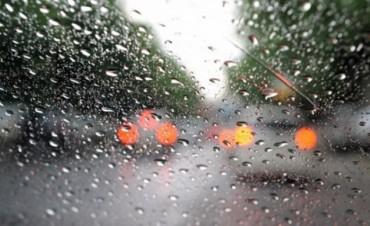Pronostican un fin de semana lluvioso