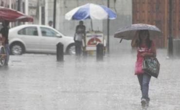 Emitieron alerta por lluvias persistentes: Prevén hasta 100 milímetros