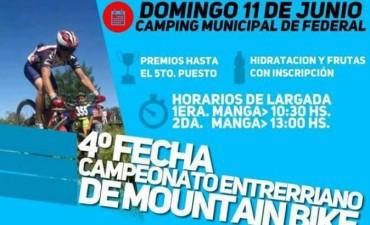 Se disputará el campeonato enterriano de Mountain Bike en Federal