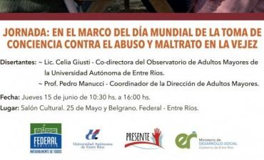 Jornada en adhesión al día de la toma de conciencia contra el abuso y el maltrato en la vejez