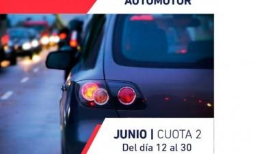 Comienza el segundo vencimiento del Impuesto Automotor