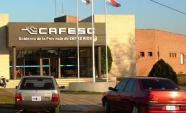 La Cafesg entregó proyectos de obra finalizados para el departamento Federal