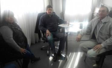 Casañas entregó el proyecto de la ruta K en Federal