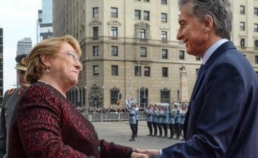 Macri destacó las posibilidades de una mayor integración energética entre Argentina y Chile