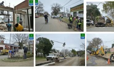 Se continua con las diferentes tareas de mantenimiento en la ciudad