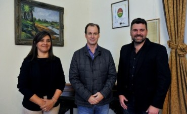 Proyectan la construcción de un centro cívico en Federal - Bordet se reunió con el intendente Chapino
