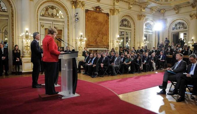 En un tiempo se verá el resultado del encuentro Macri-Merkel