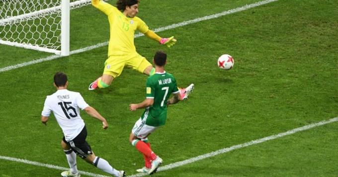 La nueva Alemania goleó a México y pasó a la final