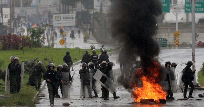 Ya son 78 los muertos por las protestas en Venezuela