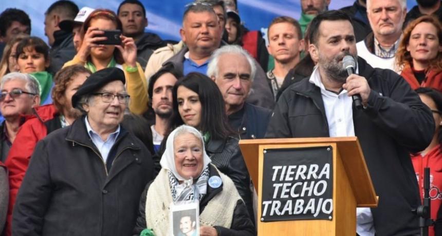 Marcha Federal | Adolfo Pérez Esquivel: