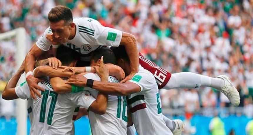México le ganó a Corea del Sur y tiene un pie en octavos