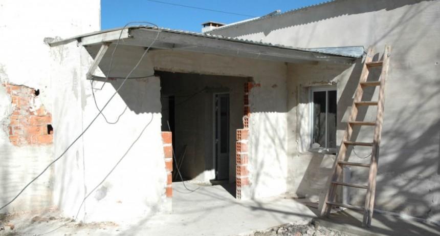 EL MUNICIPIO CONTINÚA CON LAS LABORES DE ALBAÑILERÍA EN LA SALA DE CAMPO DE MAYO Y EL S.U.M. DE EL SALTO